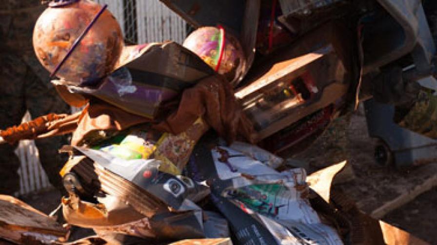 Мъж откри над 120 хил. долара на боклука