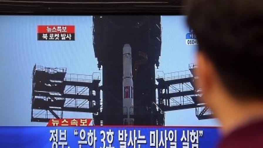 Нови обвинения заради тестваната от Северна Корея ракета
