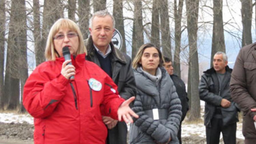 Цачева: Искам европейска и световна слава за Банско и за България