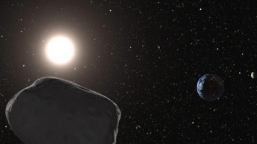 Астероидът Апофис минава край Земята