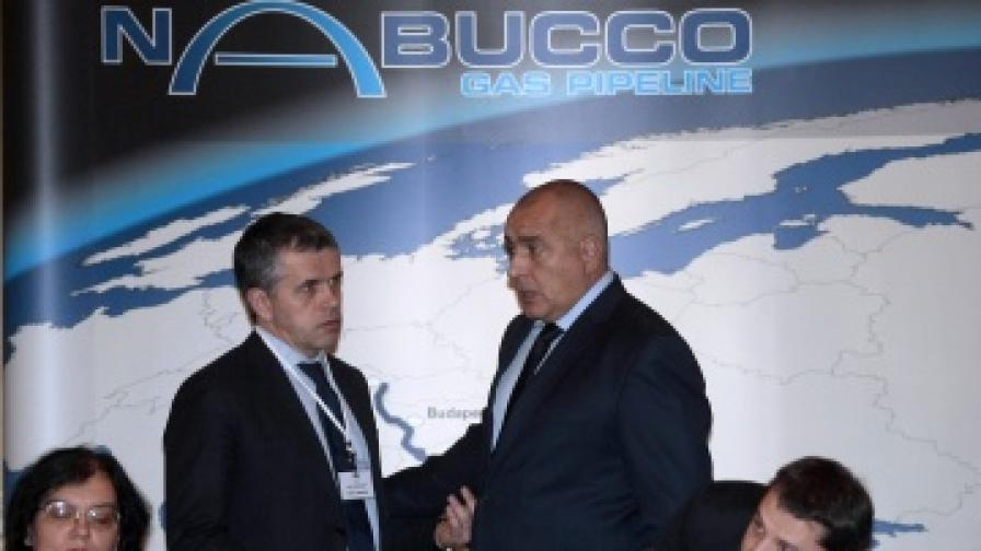 """Премиерът Борисов приветства енергийните министри от държавите, през които е предвидено да премине бъдещият газопровод """"Набуко"""""""