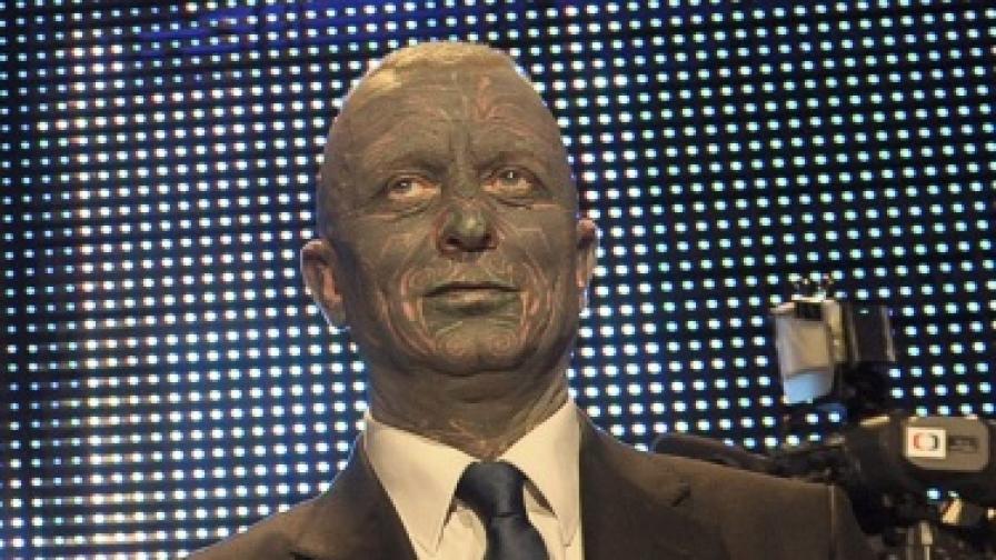 Владимир Франц изглежда доста шокиращо - особенои като кандидат-президент