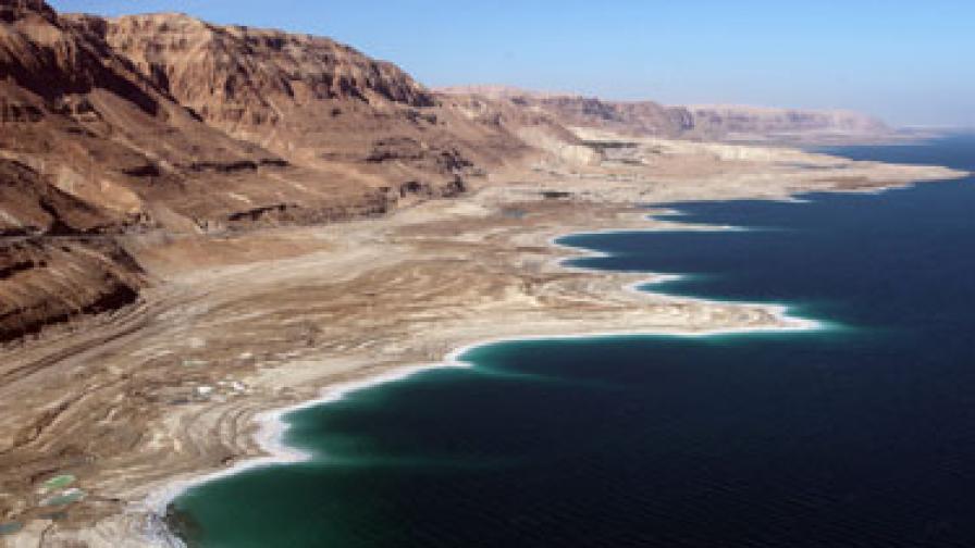 Нивото на Мъртво море се е покачило за първи път от десет години