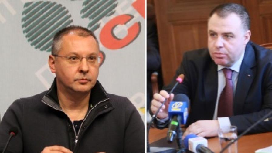 Министър Найденов в нов челен сблъсък с БСП
