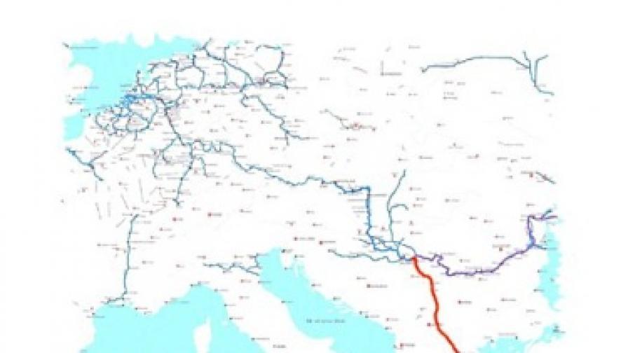 Сърбия кани китайци да строят канала Белград - Солун