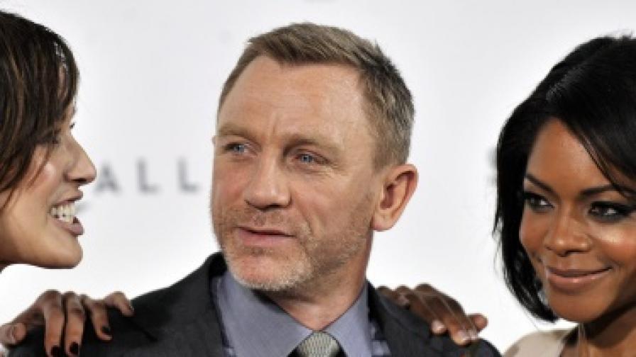 Жените мечтаят да споделят ваната си с агент 007