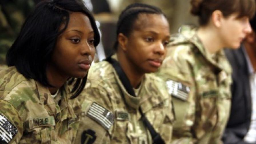 САЩ: Жени на фронта? Може!