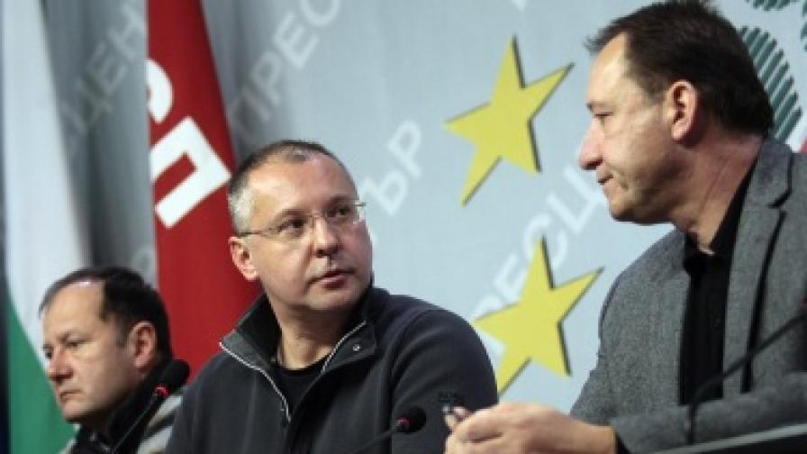 Сергей Станишев: Оставките в кабинета трябва да са три в едно