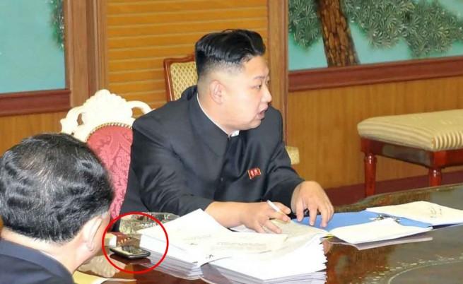 Ким Чен-ун и смартфонът