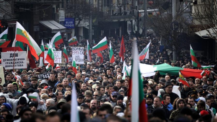 Много от протестите в страната прераснаха в гражданско неподчинение