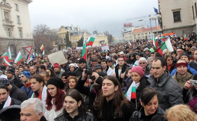 Протестиращите не искат разпускане на парламента
