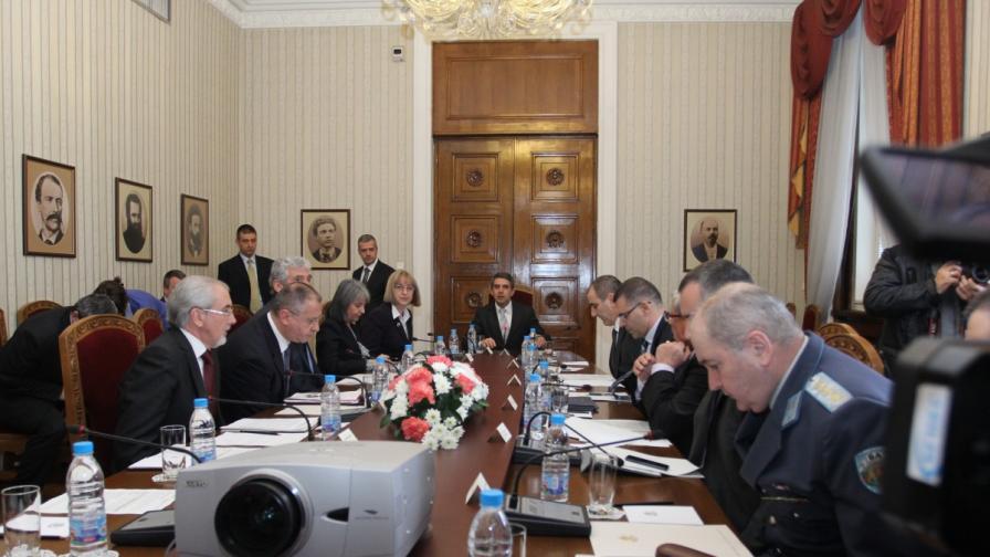 Заседанието на Консултативния съвет по национална сигурност при президента
