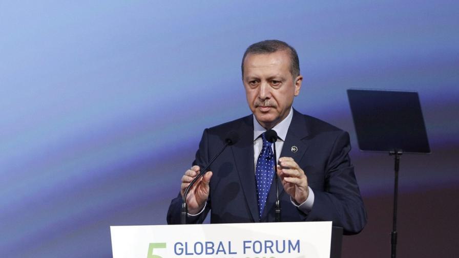 Ердоган: Ислямофобията е като антисемитизма и ционизма