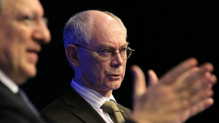 Европейските лидери замразиха преговорите с Русия за визите