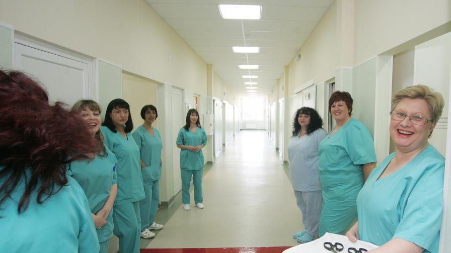 Увеличават заплатите на медиците в Александровска болница