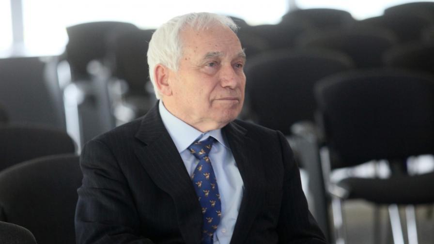Президентът (1991-1997) д-р Желю Желев