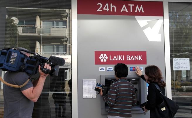 Всекидневният живот в Кипър замря заради затворените банки