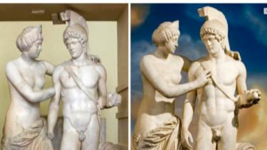След Христа (л) и при Берлускони (д).