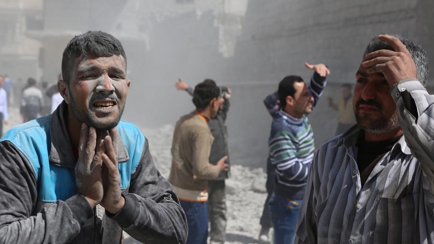 Март 2013 г. – най-кървавият месец в Сирия