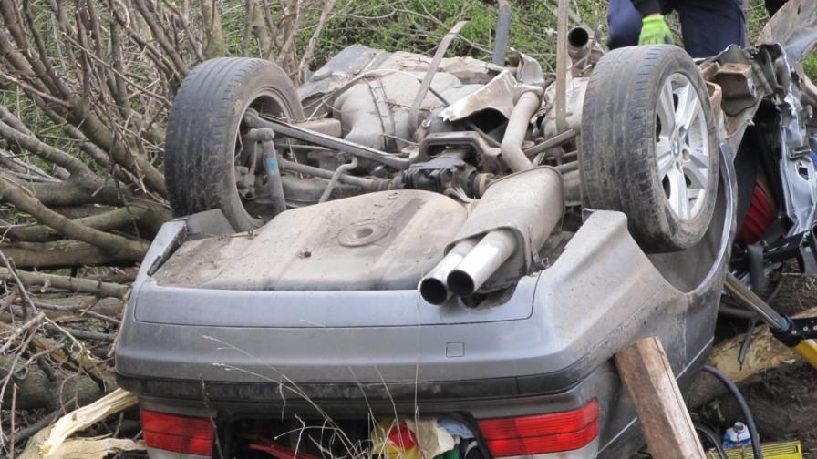 Трима загинаха при тежка катастрофа край Русе