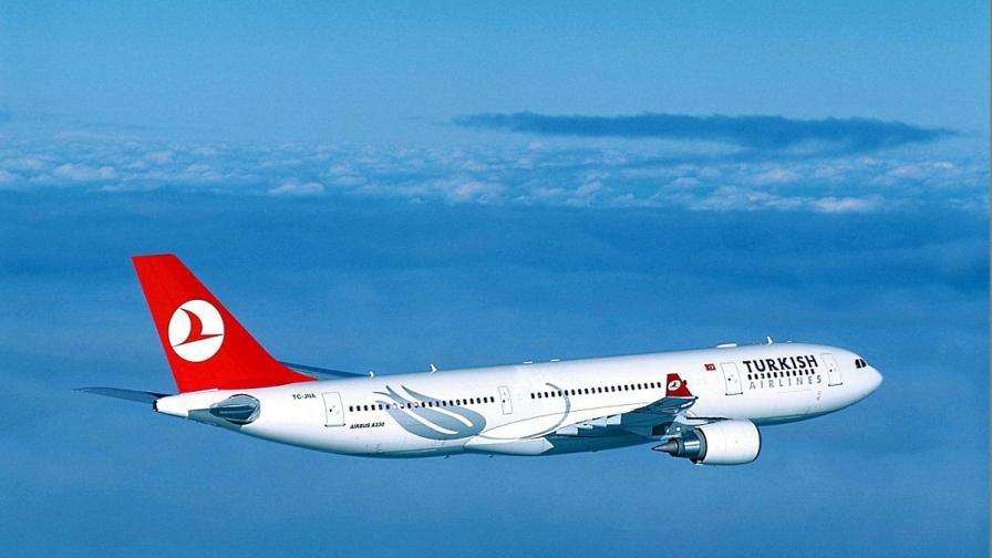 Турски самолет кацна принудително в Ирландия