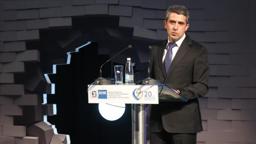 Плевнелиев: България сама си създава проблеми