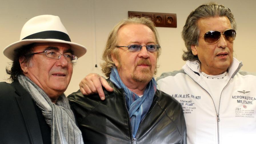 Умберто Тоци, Ал Бано и Тото Кутуньо: Наша България