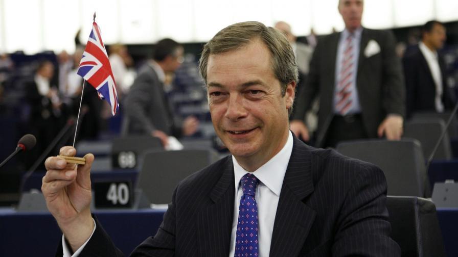 Найджъл Фарадж: Не съм враг на българите, а на имиграцията