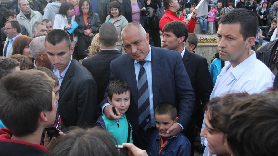 Бойко Борисов на среща с избиратели