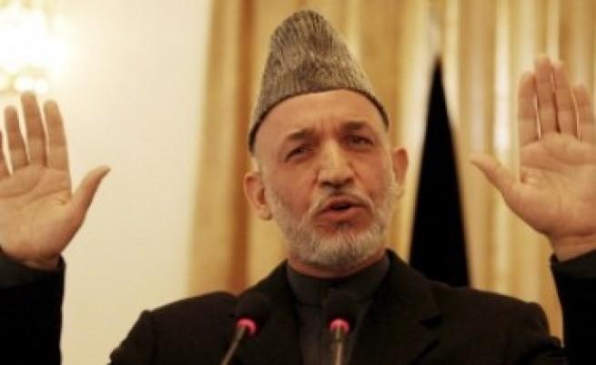 ЦРУ пращало куфарчета с долари на Карзай