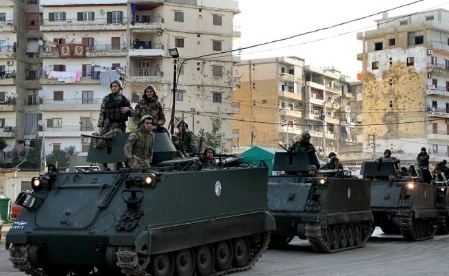 Тридневни сблъсъци в Ливан заради конфликта в Сирия