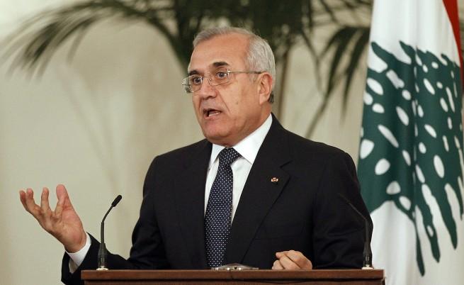 Ливанският президент призова