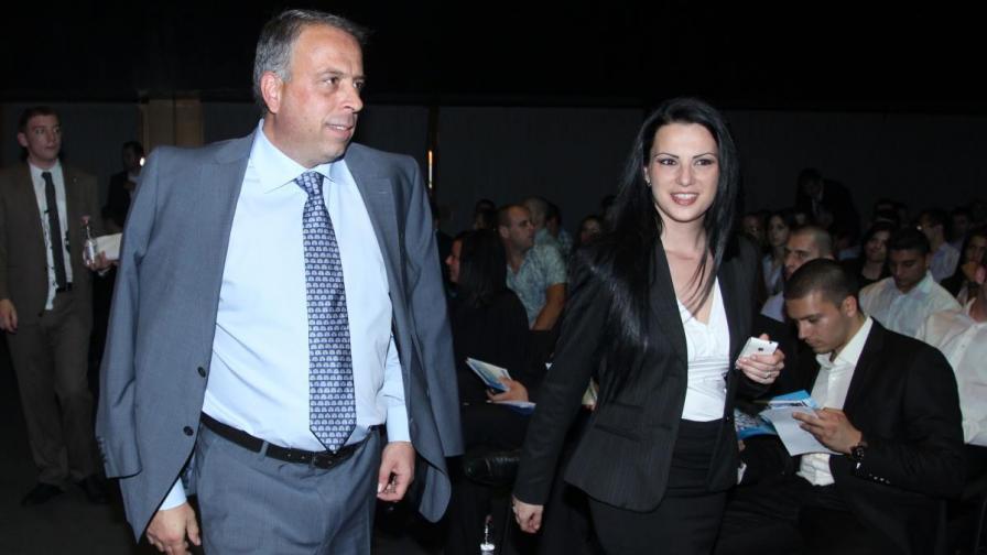 Емил Димитров на отчетно-изборното събрание на младежката организация на ГЕРБ миналата година