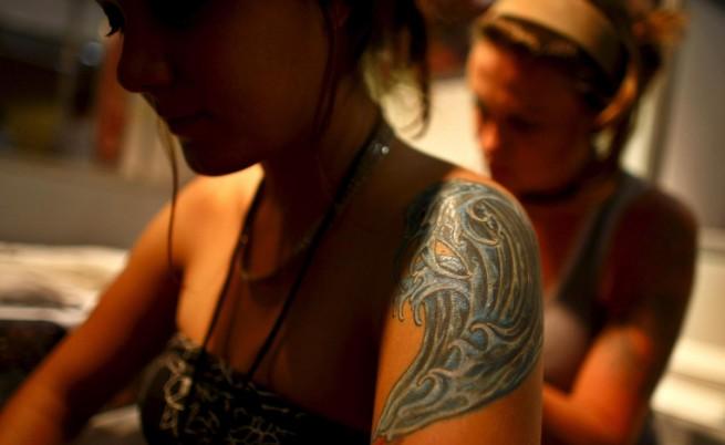 Жените с татуировки били по-лесни за мъжете