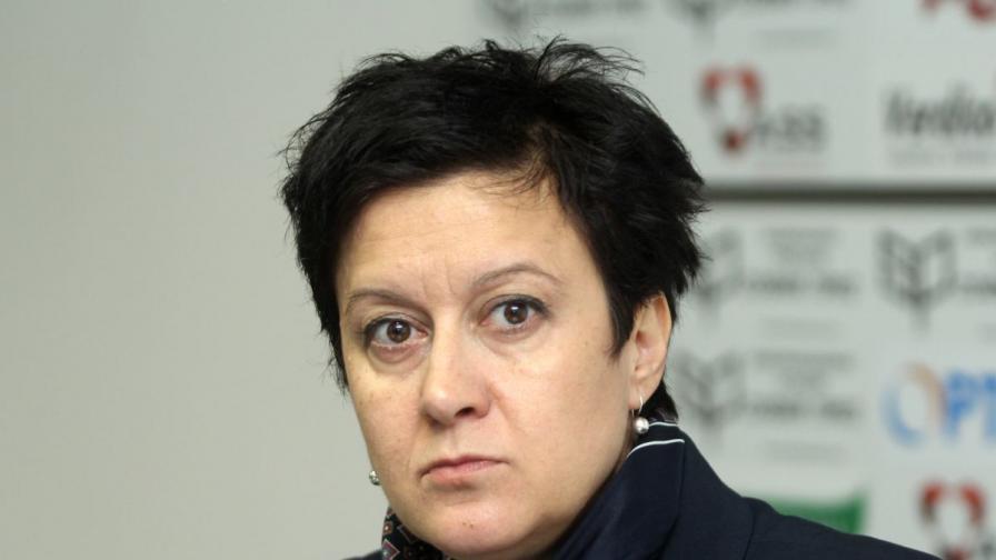 Антоанета Цонева - ръководител на Института за развитие на публичната среда