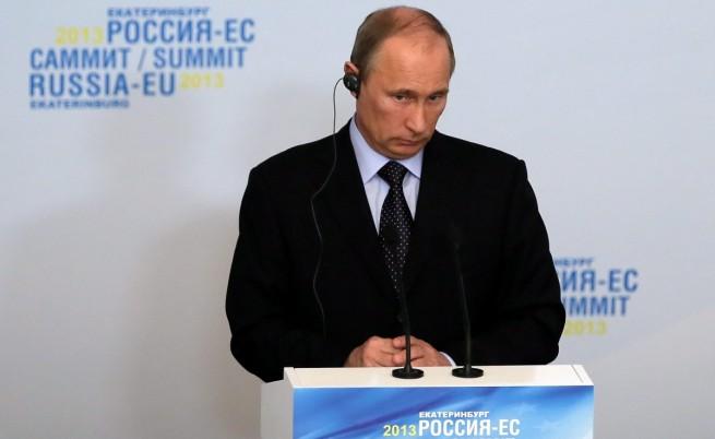 Путин: Военна намеса в Сирия би била неуспешна