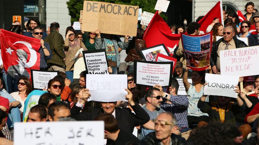 В Турция щетите от протестите струват близо 40 млн. долара