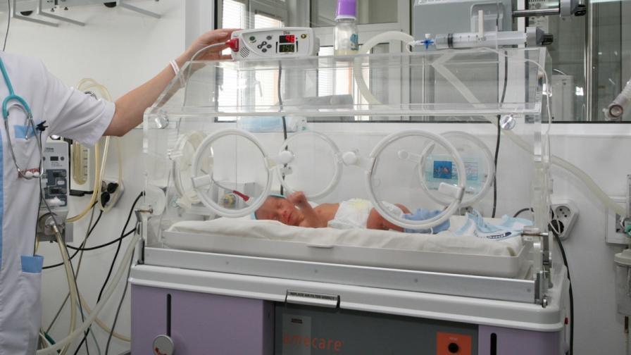 Десет на сто от новородените в страната са недоносени
