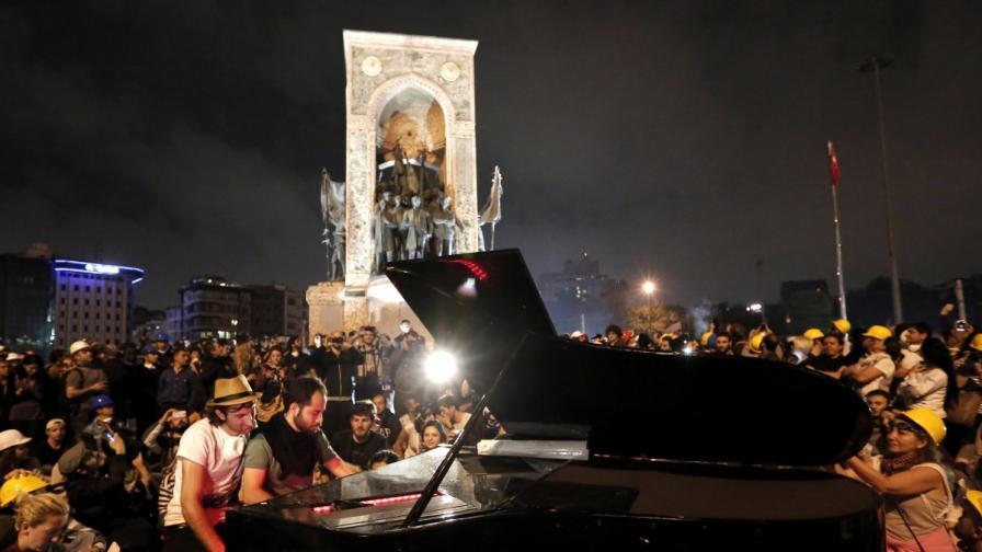 Ердоган: Зад протестите стоят нелегални организации