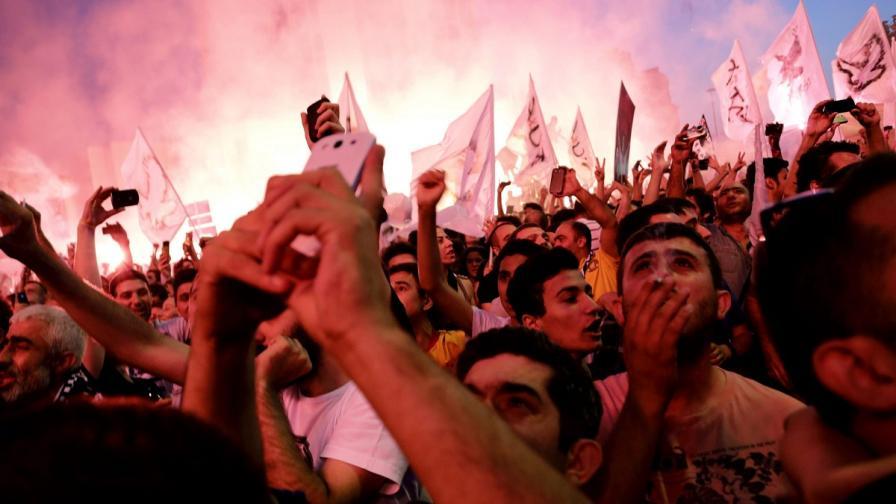В Турция: Протестите срещу всяка несправедливост продължават
