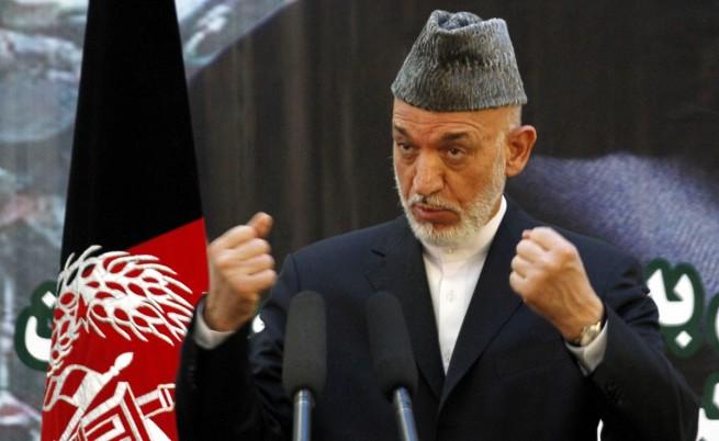 Карзай прекрати преговорите със САЩ за споразумение за сигурността
