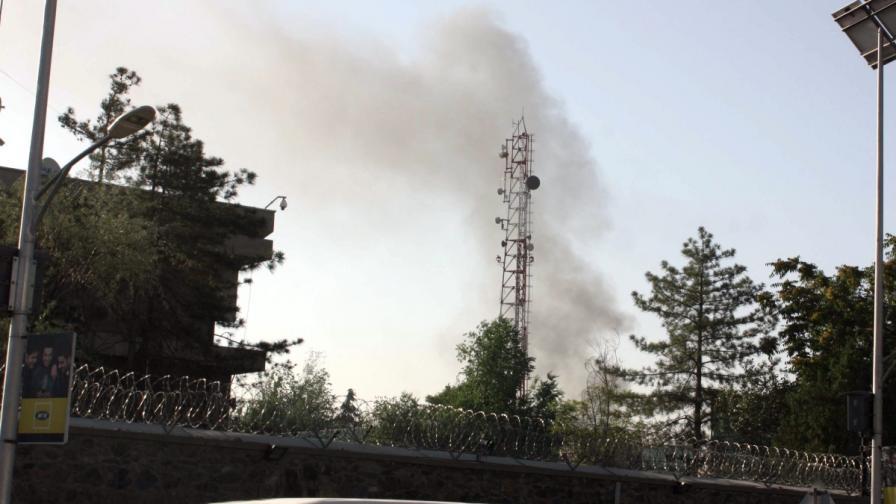 Талибани атакуваха президентския дворец в Кабул