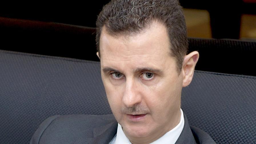 Асад отново отрече да е използвал химическо оръжие