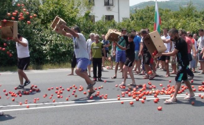 Проверки на плодове и зеленчуци по границата