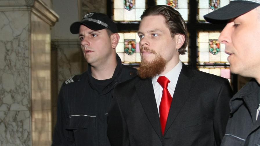 Джок Полфрийман по време на делото във Върховния касационен съд, 2011 г.