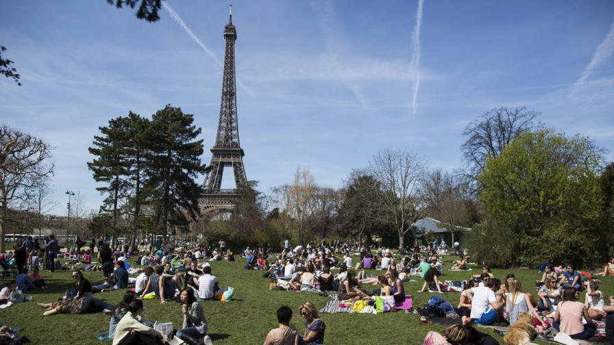 Най-популярната туристическа дестинация е Франция