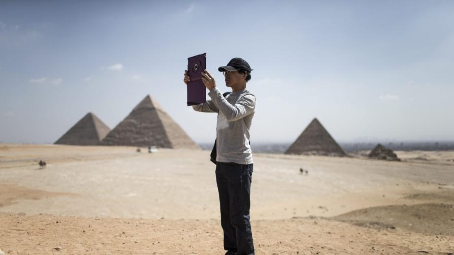 Откриха египетски сфинкс в Израел