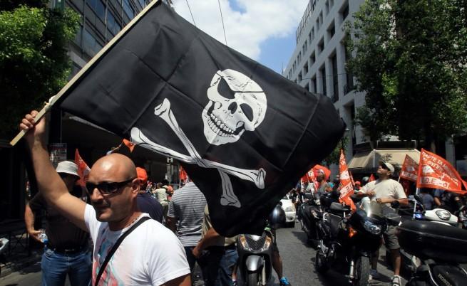 24-часова стачка в Гърция