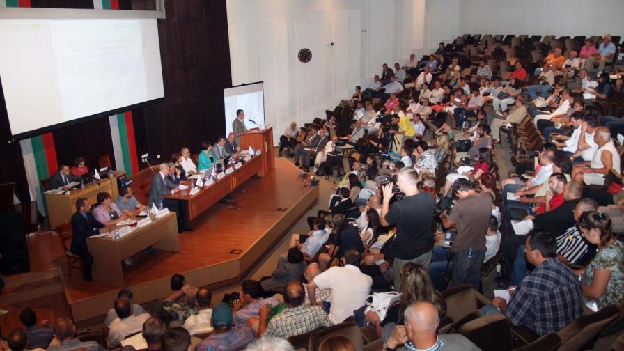 """Обществено обсъждане за въздействието върху околната среда на """"Южен поток"""""""