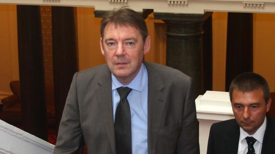 Народното събрание избра Писанчев за шеф на ДАНС